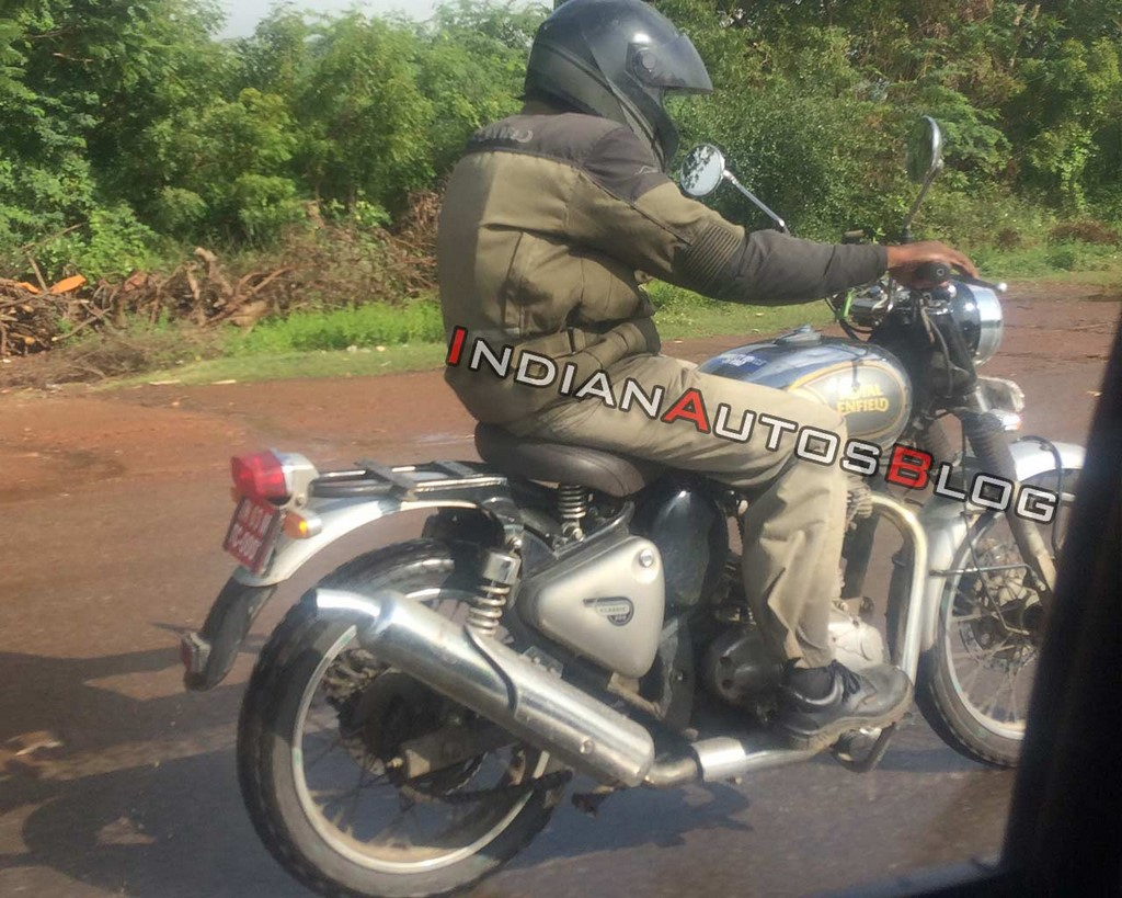 Royal Enfield Classic 500 Scrambler Spotted Specs