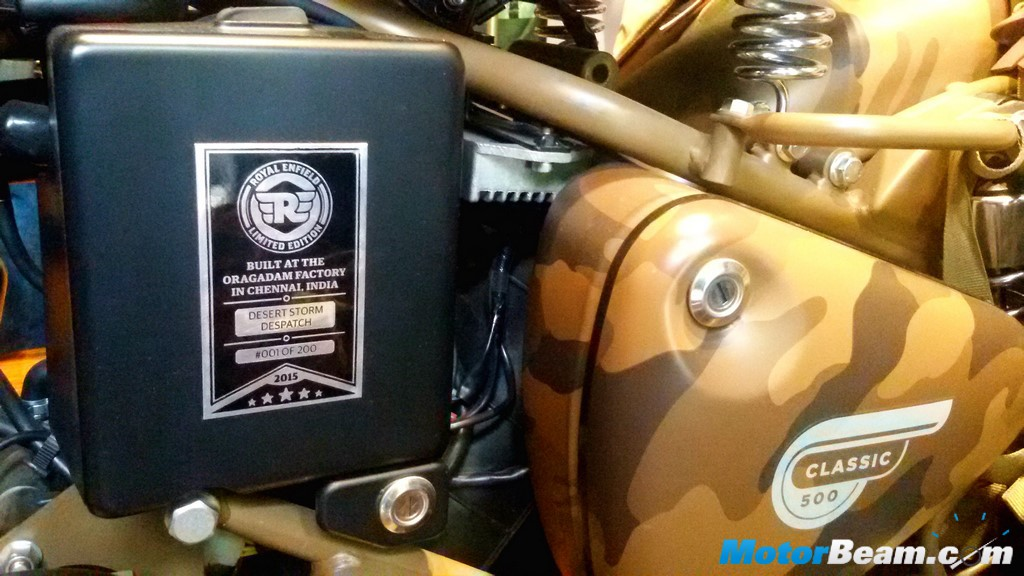 Royal Enfield Classic 500 Special Edition