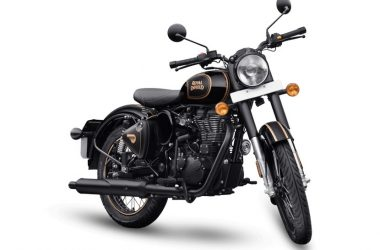 Royal Enfield Classic 500 Tribute Black Launch