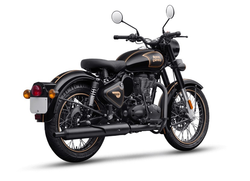 Royal Enfield Classic 500 Tribute Black Rear
