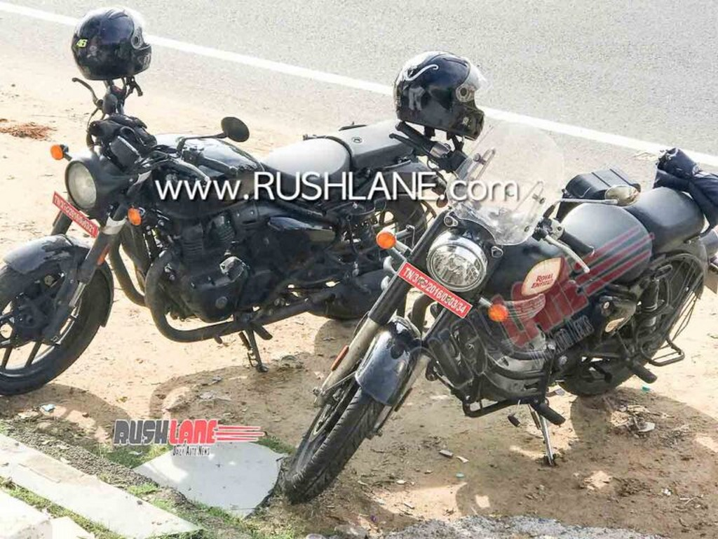 Royal Enfield Classic 650 Spied