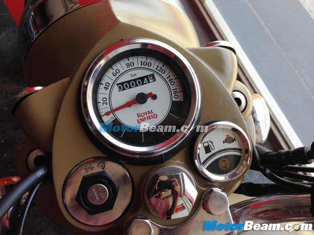 Royal Enfield Classic New Instrument Cluster