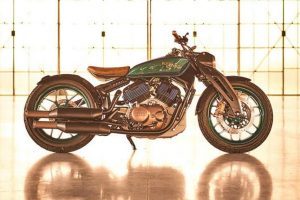 Royal Enfield Concept KX Side