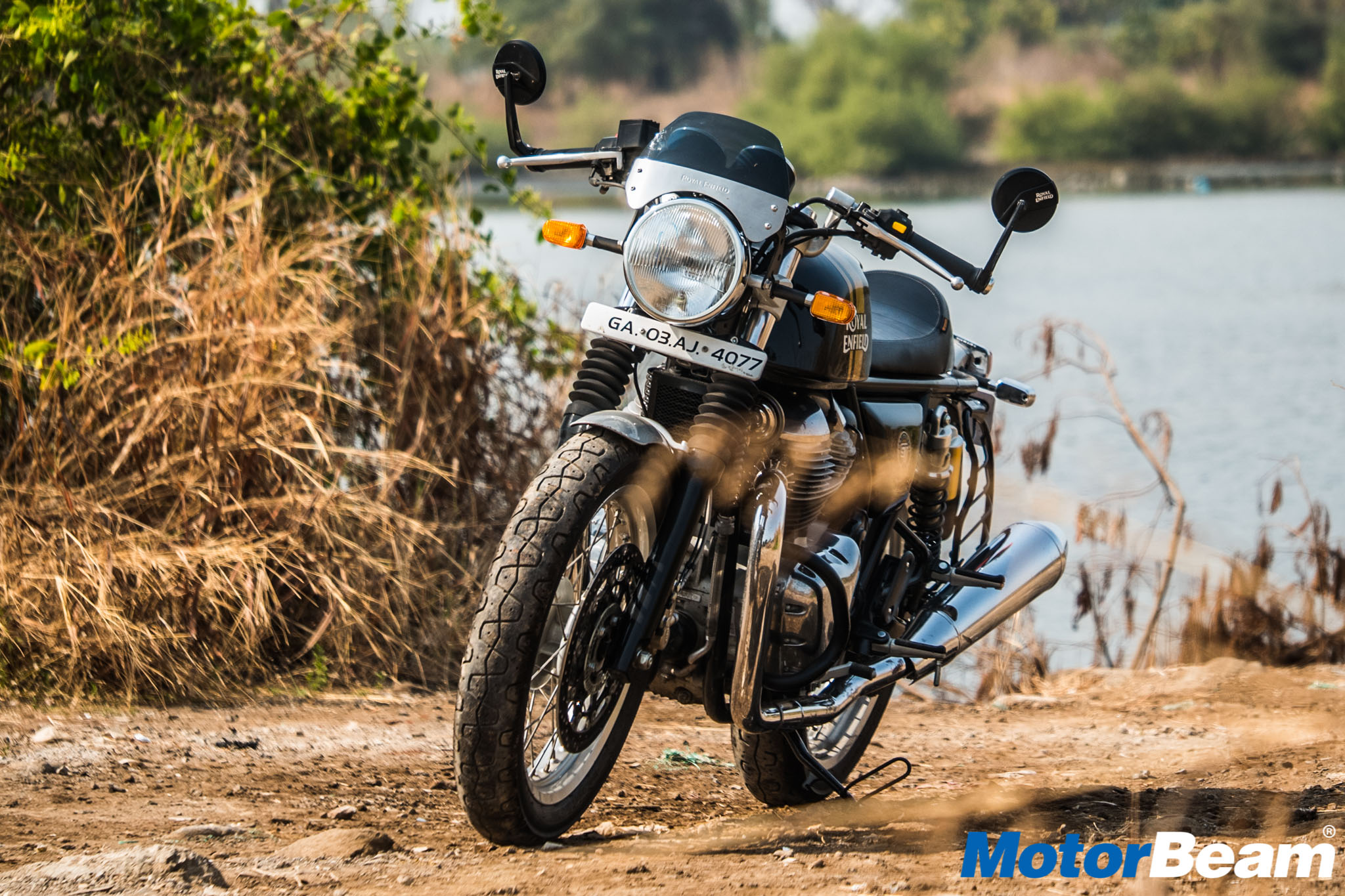 Royal Enfield Continental GT 650 Test Ride Review