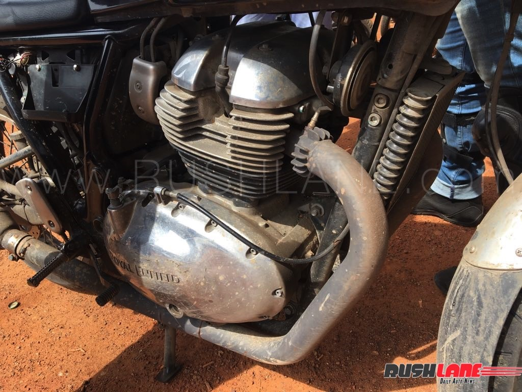 Royal Enfield Continental GT 750 Engine