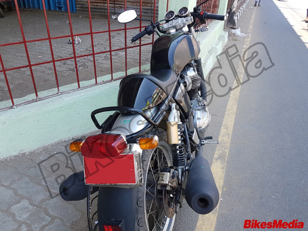 Royal Enfield Continental GT 750 Rear Spied