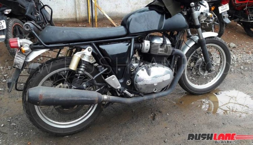 Royal Enfield Continental GT 750 Side Spied