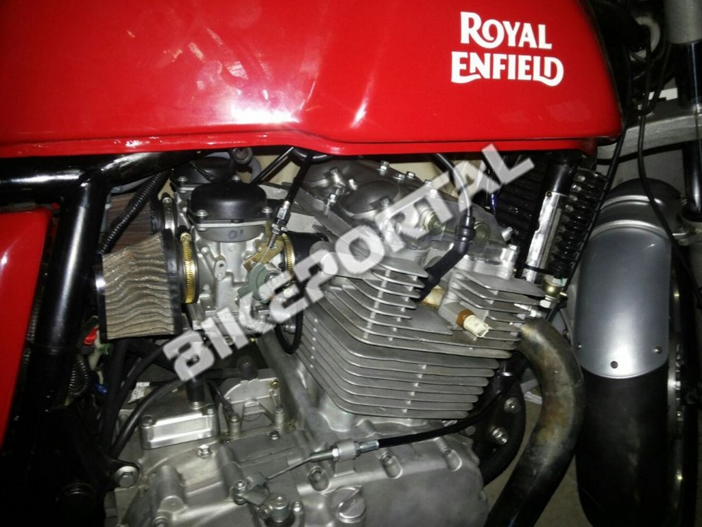 Royal Enfield Continental GT 750cc Spied