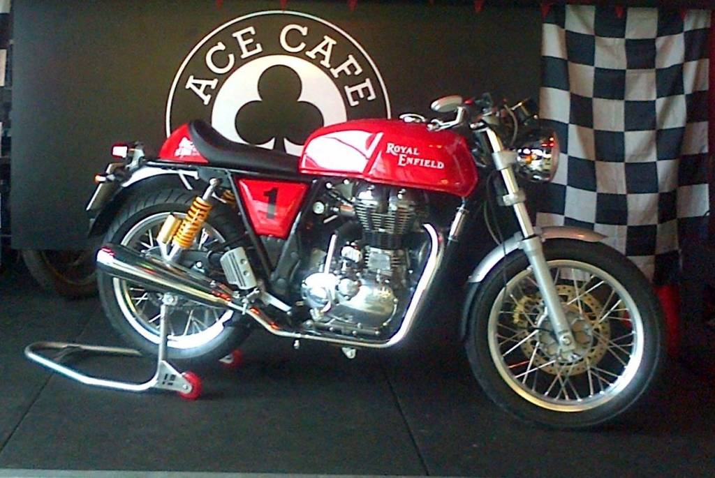 Royal Enfield Continental GT Ace Cafe