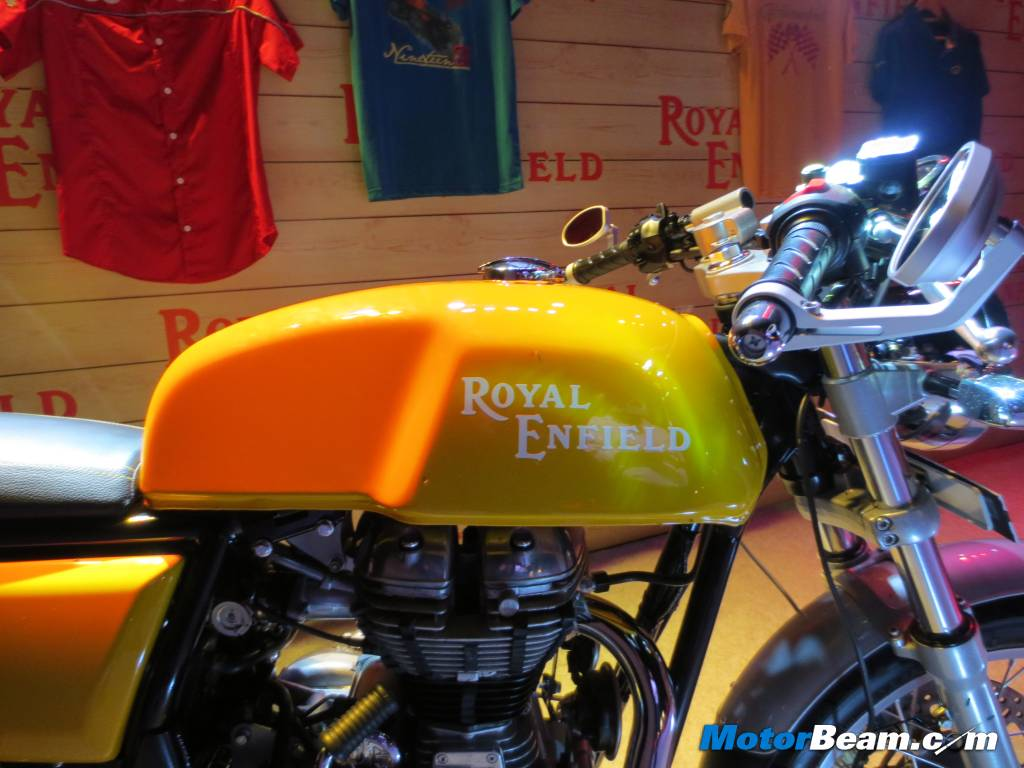 Royal Enfield Continental GT Details