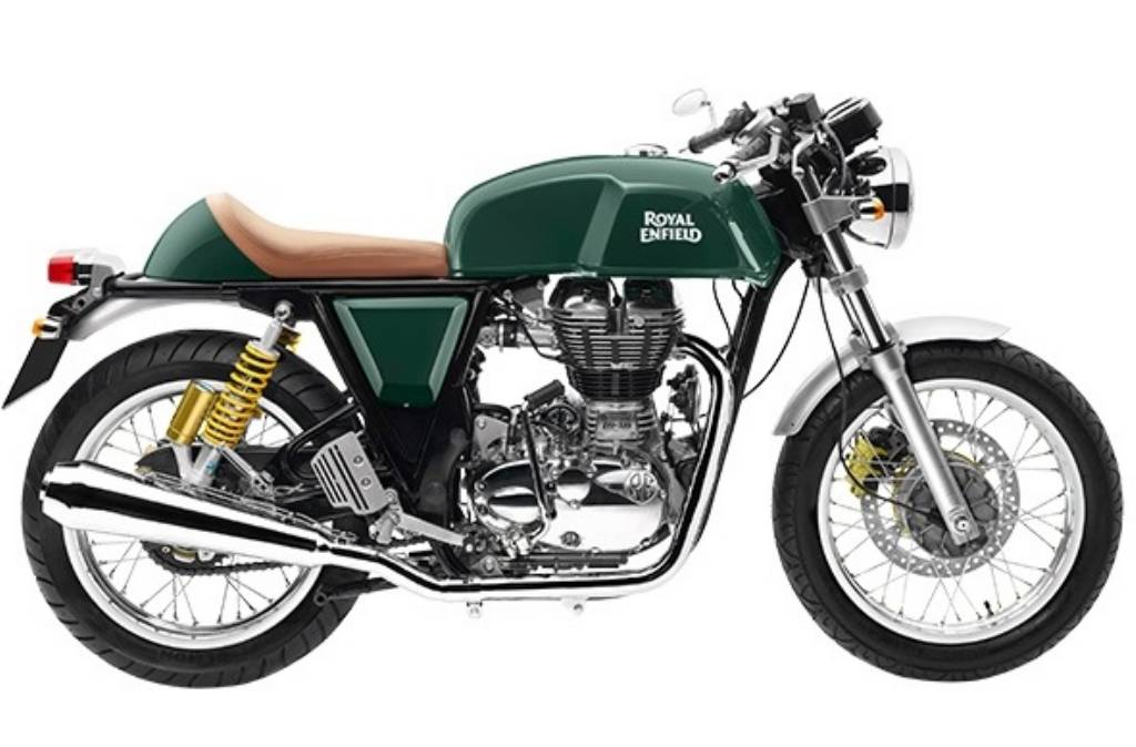 Royal Enfield Continental GT Green