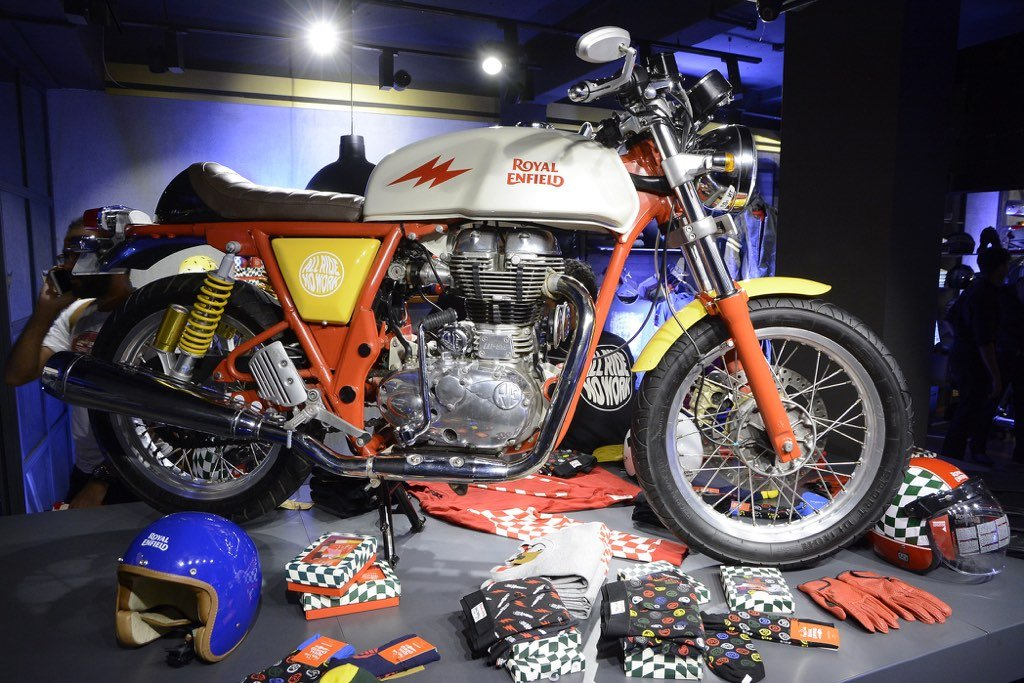 Royal Enfield Continental GT Happy Socks Limited Edition