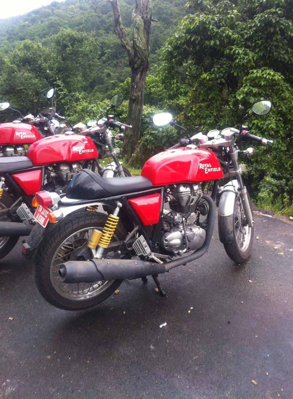 Royal Enfield Continental GT Seat