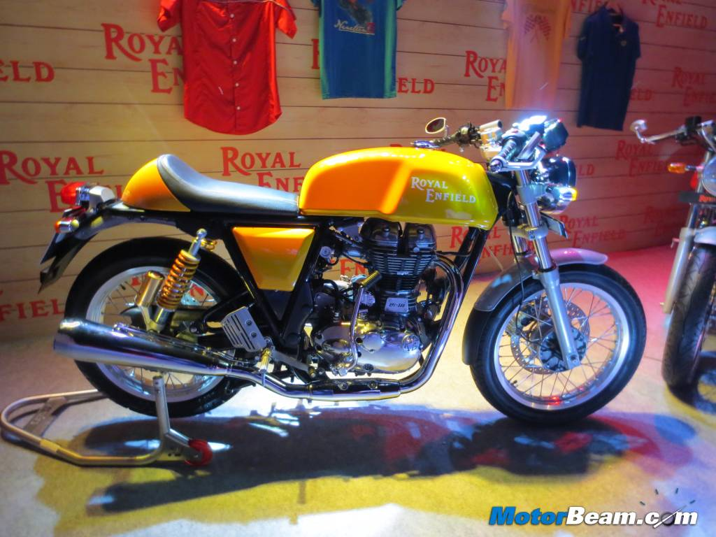 Royal Enfield Continental GT Specs
