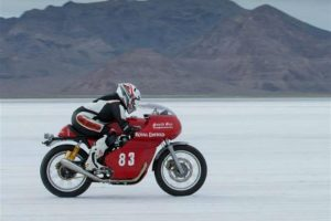 Royal Enfield Continental GT Speed Record