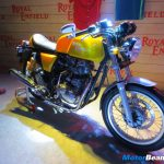 Royal Enfield Continental GT Yellow