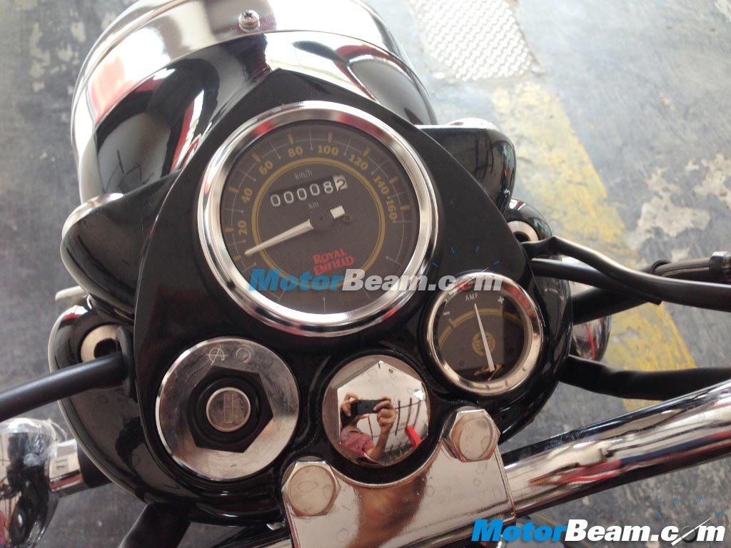 Royal Enfield Electra Instrument Cluster