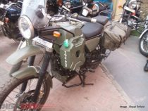 Royal Enfield Himalayan Army Green Front
