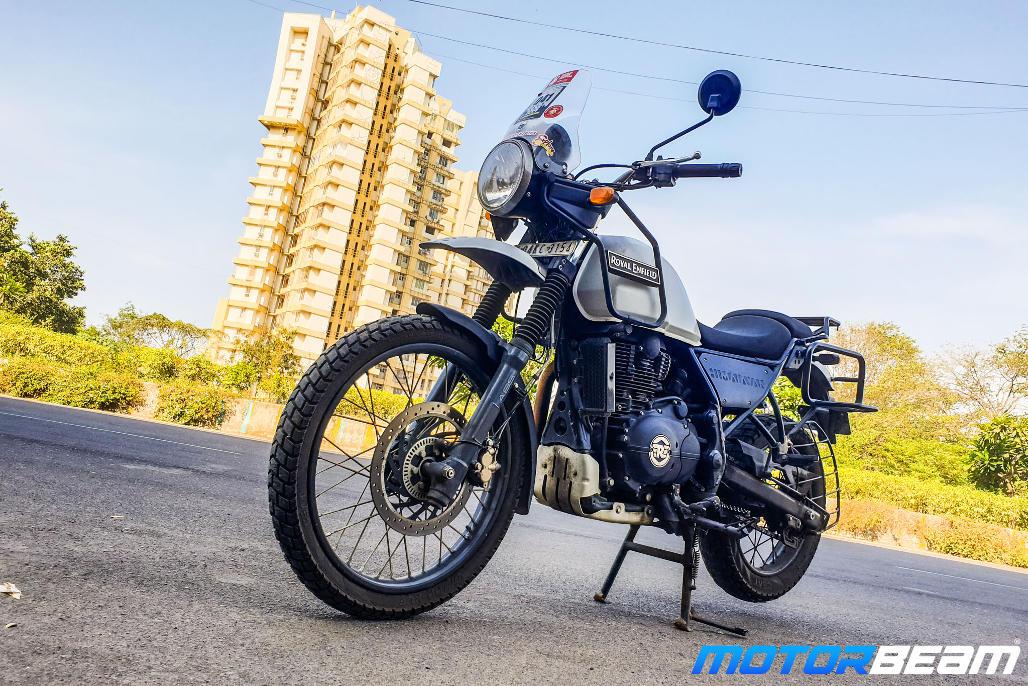 Royal Enfield Himalayan Exhaust Test Review