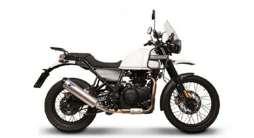 Royal Enfield Himalayan Exhaust