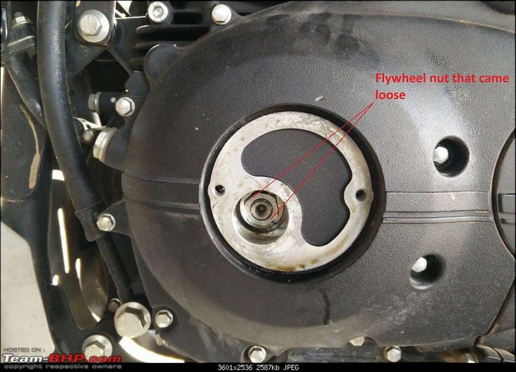 Royal Enfield Himalayan Flywheel Issue