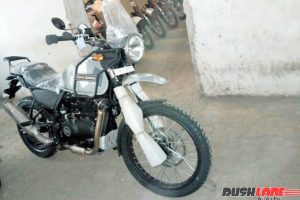 Royal Enfield Himalayan New Colour Side