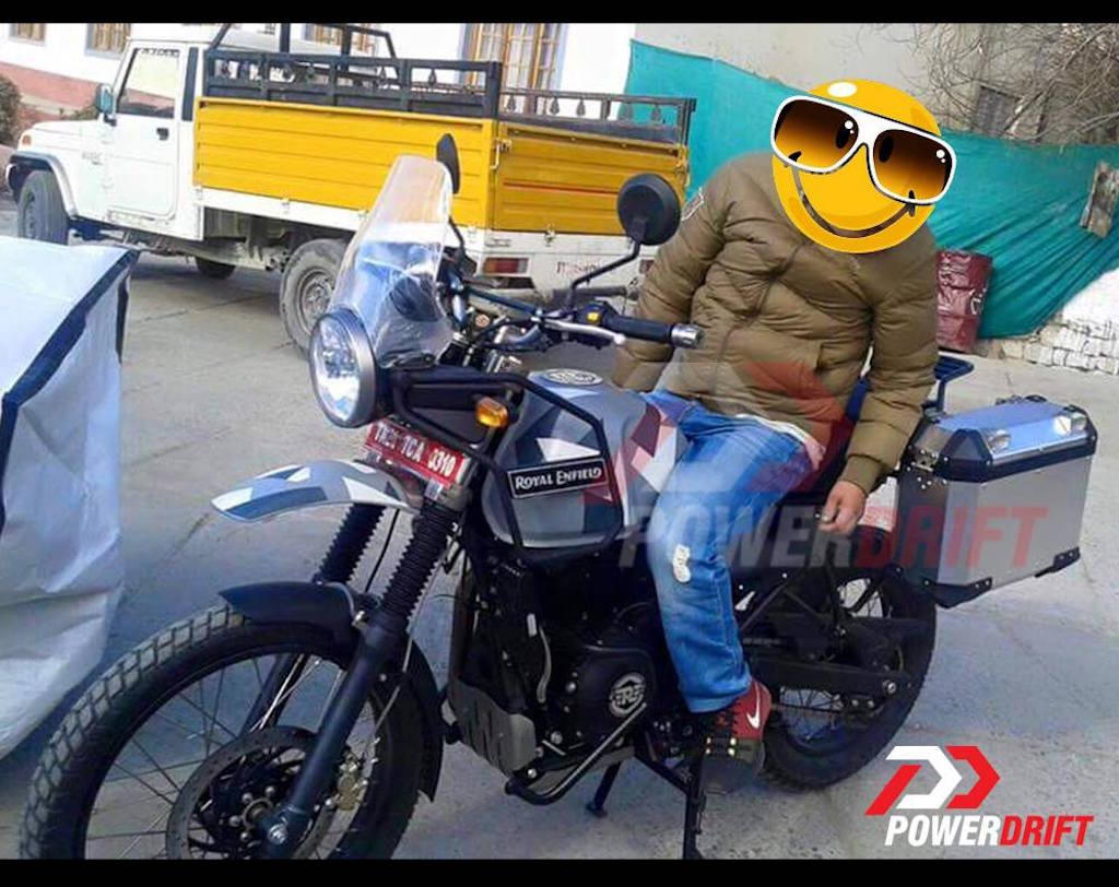 Royal Enfield Himalayan Production Ready