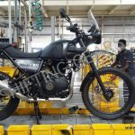 Royal Enfield Himalayan Production Version Spied