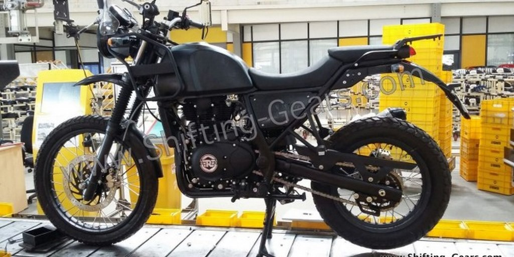 Royal Enfield Himalayan Production Version Spotted India