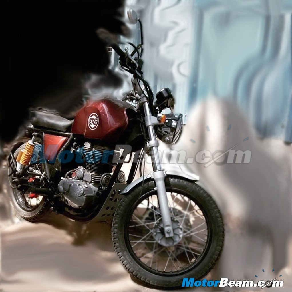 This Could Be The Royal Enfield Himalayan Adventure Bike