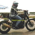 Royal Enfield Himalayan Test Mule