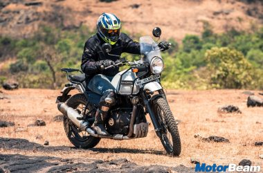 Royal Enfield Himalayan Test Ride