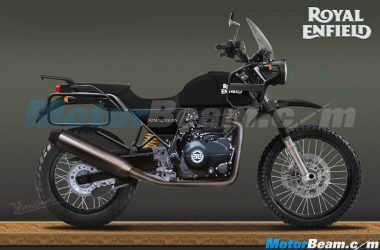Royal Enfield Himalayan Continues Testing, Production Model Rendered