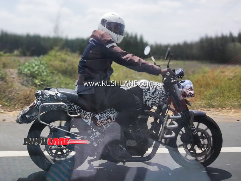 Royal Enfield Hunter Spied, New Details Revealed