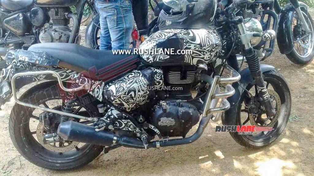 Royal Enfield Hunter Spied