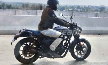 Royal Enfield Hunter Spotted