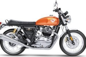 Royal Enfield Interceptor 650 Orange Crush