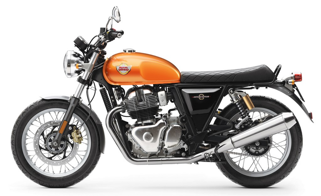 Royal Enfield Interceptor Side Profile
