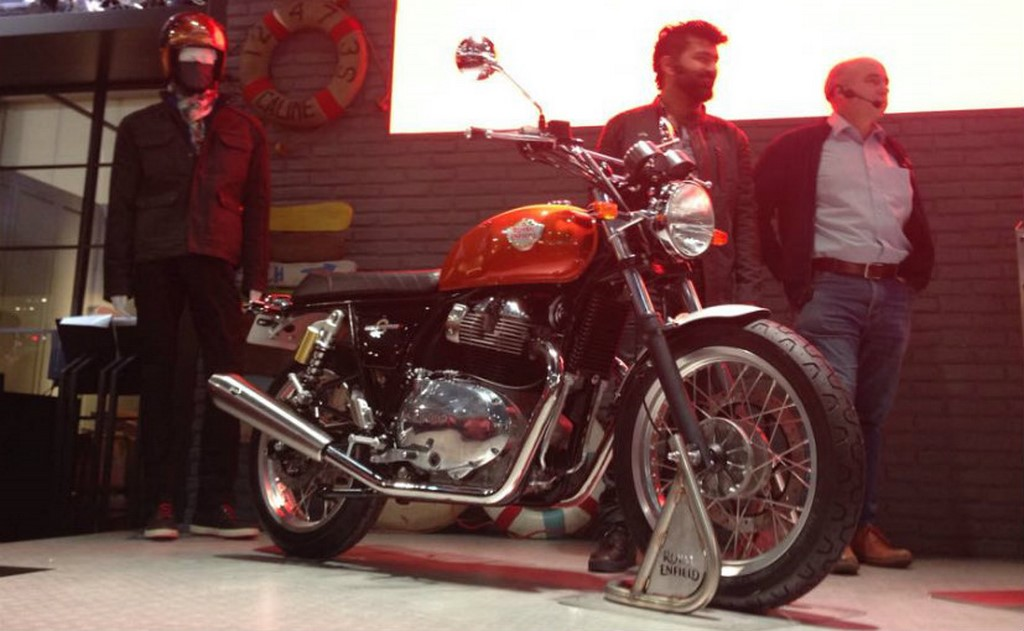 Royal Enfield Interceptor Unveiled