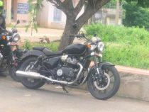 Royal Enfield KX650 Cruiser Spied