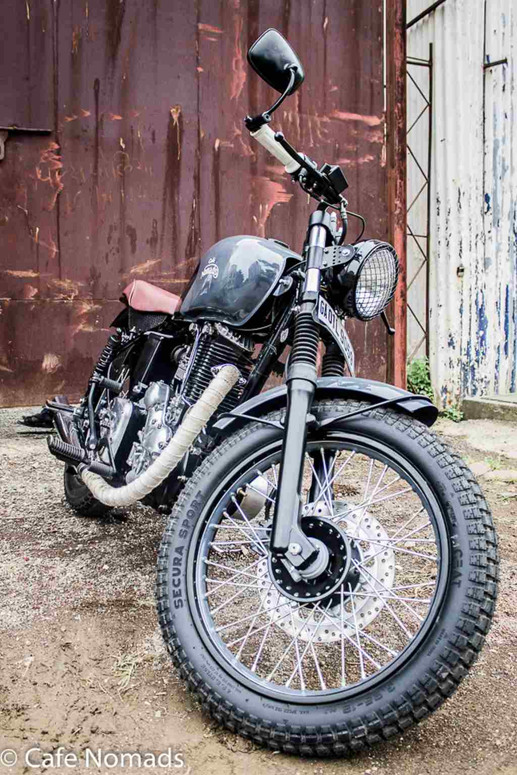 Royal Enfield Machismo Cafe Nomads