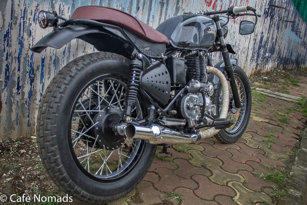 Royal Enfield Machismo Modified