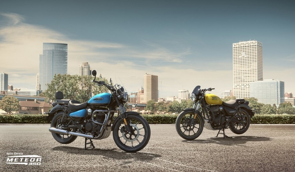 Royal Enfield Meteor 350 Colours