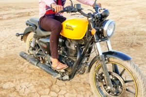 Royal Enfield Meteor 350 Undisguised