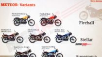 Royal Enfield Meteor Colour Options