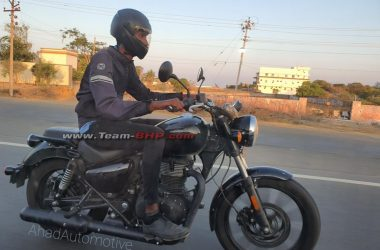 Royal Enfield Meteor Spied