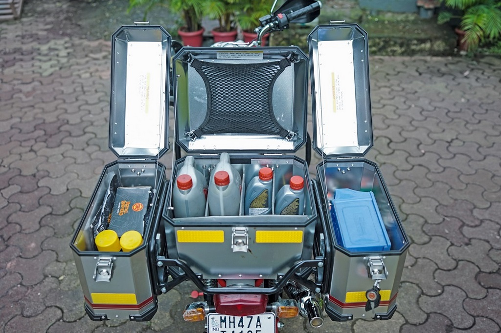 Royal Enfield Service On Wheels Equipment
