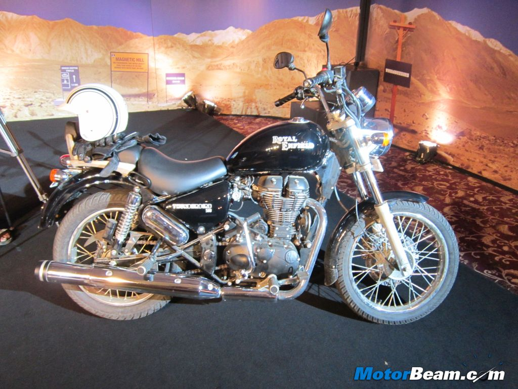 Royal Enfield Thunderbird 500 Launch