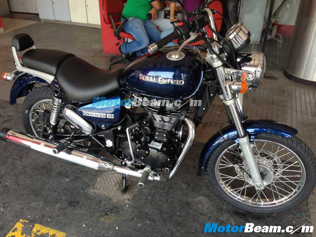 Royal Enfield Thunderbird 500 Marine Blue