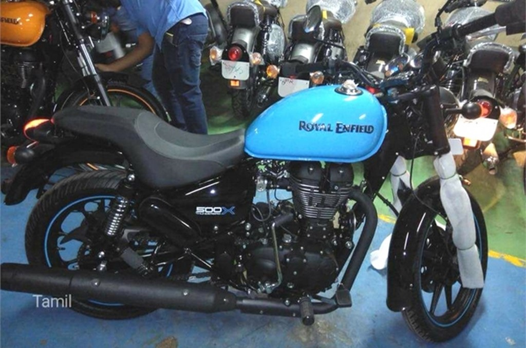 Royal Enfield Thunderbird 500X Candy Colours
